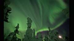 Auroral belt Stock Footage