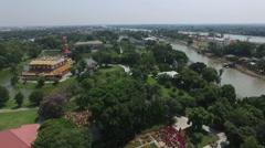Bang Pa-In Royal Palace Ayutthaya, Thailand Stock Footage