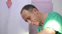 Veterinarian doctor Stock Footage