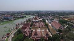Wat Phanan Choeng Worawihan Stock Footage
