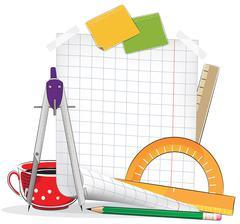 Drawing tools Stock Illustration