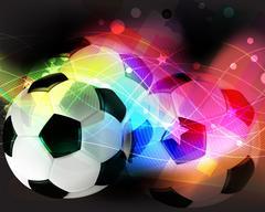 Football abstract background - stock illustration