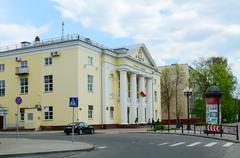 Gomel State Puppet Theatre, Pushkin Street, Gomel, Belarus Stock Photos