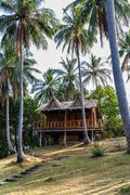 Bungalow in Thailand - stock photo
