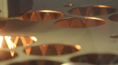 Laser cutting Stock Footage