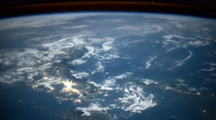 Planet Earth seen from the International Space Station ISS. - stock footage