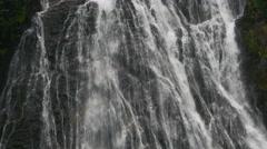 Narada Falls Close Up Mt Rainier National Park 4k Stock Footage