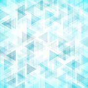 Trendy triangles backdrop - stock illustration