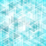 Trendy triangles backdrop Stock Illustration