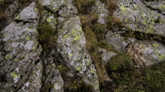 Rocks in mountains Stock Footage