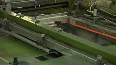 Industrial Industry Machinery Printing Press  Loop Stock Footage