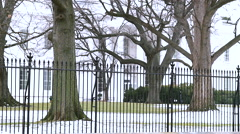 The White House with GAMMA  Filter - stock footage
