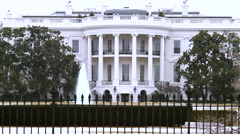 The White House with GAMMA  Filter Stock Footage
