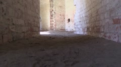 A military fort, looking for a way out Stock Footage