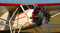 1931 Stinson SM-8A Taxi Out - stock footage