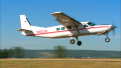 Cessna 208B Caravan Take Off Stock Footage