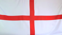Flag of English soccer - stock footage