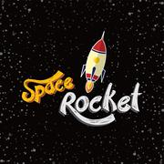rocket ship launch - stock illustration