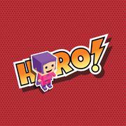 great superhero mom - stock illustration