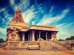 Brihadishwara Temple, Tanjore Stock Photos