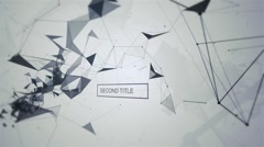 Abstract Titles Stock After Effects
