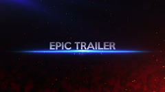 Epic Cinematic Titles Stock After Effects