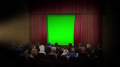 Movie Stage Stock Footage