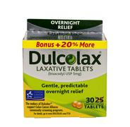 Dulcolax laxative tablets - stock photo