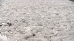 IceBerg MeltingIce GeorgianBay Winter Waves SuperSlowMotion 240FPS 1080HD Stock Footage