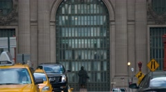 Speedup video of Grand Central Station, Midtown Manhattan. Stock Footage