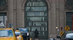 Speedup video of Grand Central Station, Midtown Manhattan. Stock Footage