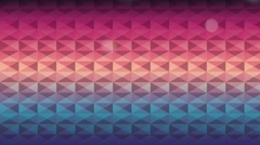 Colors and light geometric background, Video Animation Stock Footage