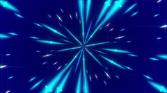 abstract background, pulsating blue light, loop - stock footage