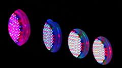 Stage  flash lighting - stock footage