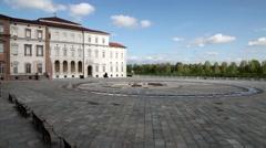Palace of Venaria, Venaria Reale, Turin, Piedmont, Italy - stock footage