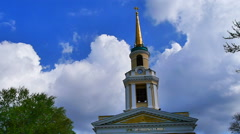 Spaso-Preobrazhensky Cathedral in Dnepropetrovsk Stock Footage