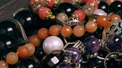 Closeups, jewelry Stock Footage