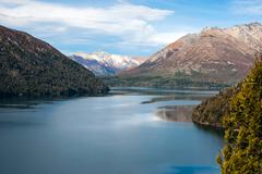 Autumn in Bariloche, Patagonia, Argentina Stock Photos