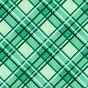 Emerald hues seamless diagonal pattern Stock Illustration
