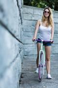 Active young girl - stock photo