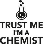 Trust me I'm a chemist Stock Illustration