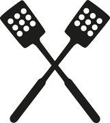 Kitchen spatula - stock illustration
