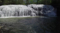 Cascading Waterfall Stock Footage