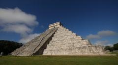 Chichen Itza pyramid Stock Footage