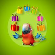 Parrot - stock illustration