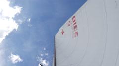Sailing - Sail boat Stock Footage