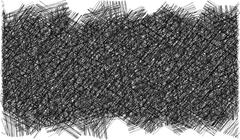 Pencil hatched background in black and white Stock Illustration