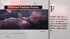Different Fashion Promo Stock After Effects