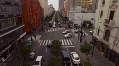 Lima dowtown Stock Footage