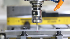 coordinate measuring machine - stock footage